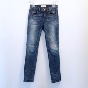 Madewell Distressed Skinny Skinny Jeans